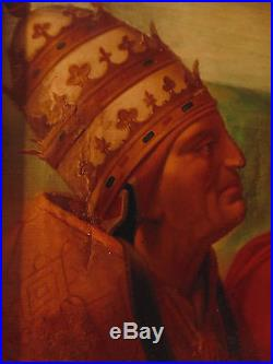 Pères de l'église, l'école italienne, suiveur de Raphaël Sanzio