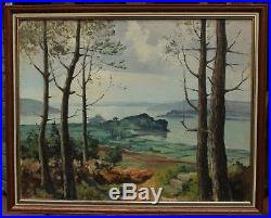 Paysage Marin De Bretagne, Jim Sévellec (1897-1971)