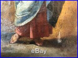 Peinture à l'huile, Salvator Mundi, école européenne XVIII