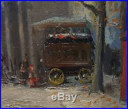 Peinture impréssionniste spain barcelona pintor MIRÓ LLEÓ Gaspar st martin paris