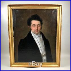 Portrait d'un gentilhomme, XIXème siècle