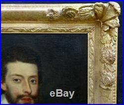 Portrait de Dominicain Ecole Française du début XVIIIème siècle Huile sur toile
