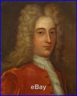 Portrait de gentilhomme Ecole Française du XVIIème siècle Huile sur toile