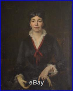 Portrait de la 1ère couturière d'Eugénie par Félix Lacaille 1881