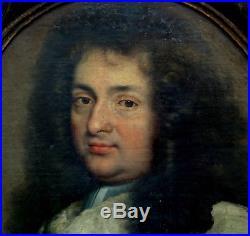 Portrait de magistrat Ecole Française du XVIIème siècle Huile sur toile