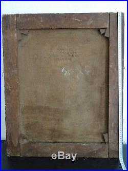 Puissant Portrait De Jeune Femme Au Foulard École Anglaise Vers 1830