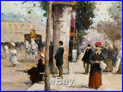 Splendide huile sur toile de WALTER SITA, cotation Artprice jusqu'à 1800