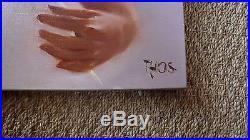 Splendide tableau huile sur toile. 20 p. Signé THOS YVES (73 cm x 54 cm)