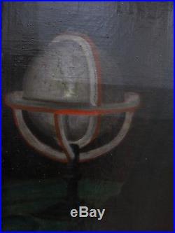 Superbe école Française début XIX e époque Empire portrait d'un homme assis