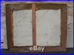 Tableau 17 Eme Huile Sur Toile Representant Le Bapteme Du Christ