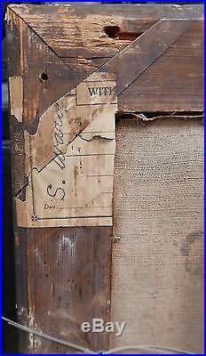 Huile sur toile blog archive tableau ancien huile for Nettoyer des tomettes anciennes