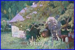 Tableau Ancien Paysage Ariègeois Couserans Joseph Paul Louis Berges (1878-1956)