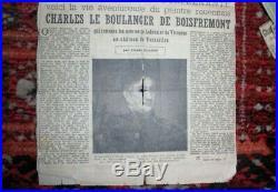 Tableau Charles de BOISFREMONT élève de PRUD'HON! XVIIIe XIXe 18e 19e HST