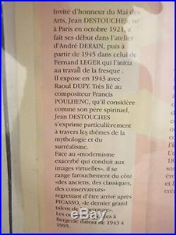 Tableau Huile Sur Toile Femmes Nues Nu Signee Jean Destouches
