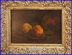 Tableau Marcel ARNAUD (1877-1956) Nature morte au pêche (cf. Cézanne)