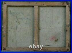 Tableau Original 1891 Paul Louis Morizet impressionnisme