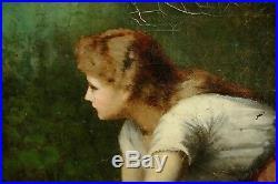 Tableau Original 19ème Charles Royer Langres Haute Marne