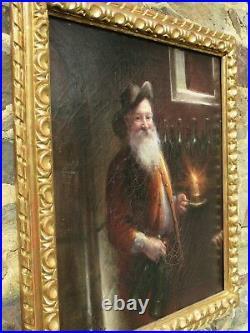 Tableau ancien Joseph-Noël Sylvestre 1847-1926 Vigneron old oil painting