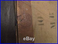 Tableau ancien huile sur toile peintre orientaliste maxime noiré signé