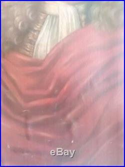Tableau, ancien portrait, XVIIIeme, noblesse, french, nobility, homme, monarchie