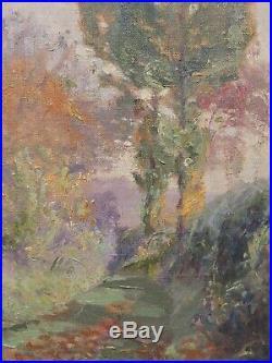 Tableau de J L DANIEL (1861-1929) élève Auguin, école de Périgueux ou Crozant