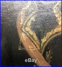 Très beau Portrait du Général AMBERT huile sur toile