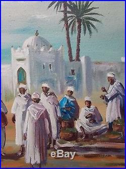 Tres bel Orientaliste de Mohamed Achwak