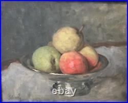 Viktor Scharf (1872-1943) Nature morte huile sur toile v 75