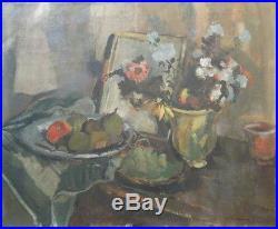 Willy Eisenschitz (1889-1974) Huile/toile signée et daté Nature Morte v 457