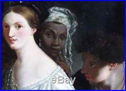 Xavier Sigalon 1787-1837 (atelier-entourage) La Jeune Courtisane. Grande Toile
